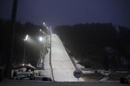 The jump at night